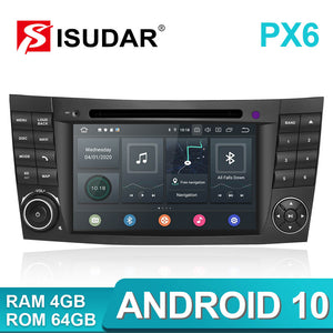 Isudar PX6 Android 10 2 Din Car Multimedia Player For Mercedes/Benz/E-Class/W211/E300/CLK/W209 - SEO Optimizer Test