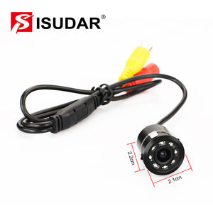 ISUDAR Waterproof Rear Camera Security With 8 LED - ISUDAR Official Store