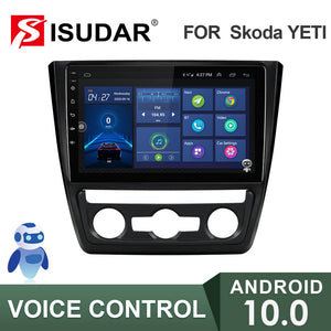 ISUDAR Voice control V57S 2 Din Android 10 Car Radio For Skoda Yeti 2009-2014 - SEO Optimizer Test