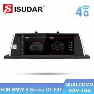 Isudar Android 10 Auto radio For BMW For 5 Series F07 GT 2009-2016 CIC NBT System