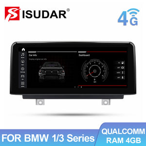 Isudar Android auto and carplay Auto radio For BMW For For BMW F20 F21 F30 F31 F22 F33 F34 F36 NBT - ISUDAR Official Store