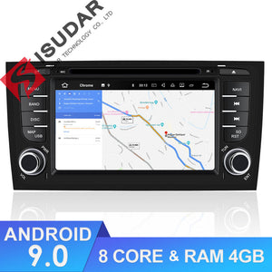 ISUDAR 2 Din Auto radio Android 9 Octa core For Audi/A6/S6/RS6 - ISUDAR Official Store