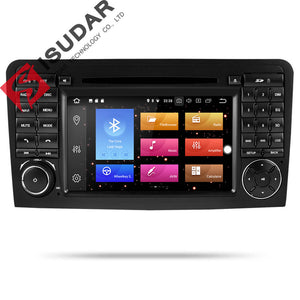 ISUDAR 2 Din Auto radio Android 9 Octa core For Mercedes/Benz/ML CLASS W164 ML350 ML300 - SEO Optimizer Test
