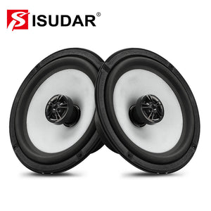 ISUDAR SU601C Car Coaxial Hifi Speakers 2 Pcs 6.5 Inch 2 Way Vehicle Door - ISUDAR Official Store