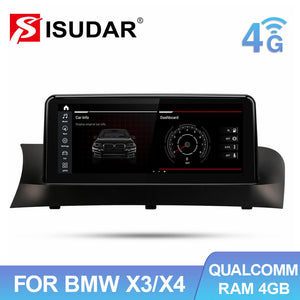 Qualcomm Snapdragon Car Multimedia Player for BMW X3 F25 X4 F26 CIC NBT - ISUDAR Official Store