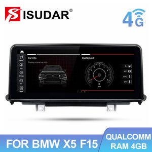 Qualcomm Snapdragon Car Multimedia Player for BMW X5 F15 X6 F16 2014-2017 NBT System - ISUDAR Official Store
