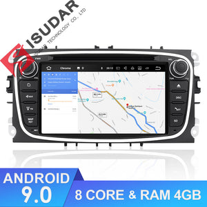 ISUDAR 2 Din Auto radio Android 9 Octa core For FORD/Focus/Mondeo/MAX/Galaxy - ISUDAR Official Store