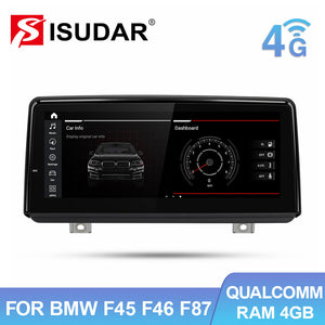 "Isudar 8.8"" Android 10 Auto car radio For BMW F45 F46 F87 NBT EVO 2013-2019 - ISUDAR Official Store"