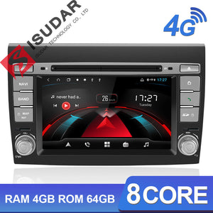 ISUDAR H53 2 Din Android Car Radio For Fiat/Bravo 2007-2012 - ISUDAR Official Store