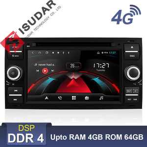 ISUDAR H53 2 Din Android Car Radio For Ford/Mondeo/Focus/Transit/C-MAX/KUGA - ISUDAR Official Store