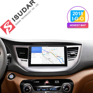 ISUDAR 1 Din Auto radio Android 9 For Hyundai Tucson/IX35 2016 2017 - ISUDAR Official Store