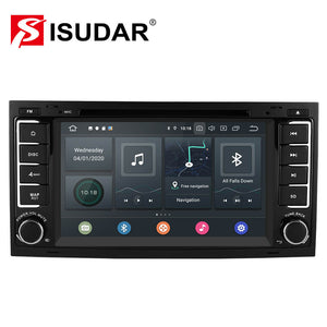 ISUDAR 2 Din Auto Radio Octa core Android 10 For Volkswagen/Touareg/T5 - ISUDAR Official Store