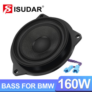 ISUDAR 4.5 Inch Doors Speaker For BMW E60 E70 E81 E90 F10 F20 F30 Series NdFeB Built-in Magnet Stereo System - ISUDAR Official Store