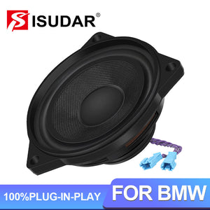 ISUDAR 4 Inch Speaker Center Dashboard Rear Headrest For BMW E60 E70 E81 E90 F10 F20 F30 Series NdFeB - ISUDAR Official Store