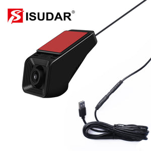 Isudar 1080P Car Front Camera video recorder USB DVR 16GB - ISUDAR Official Store