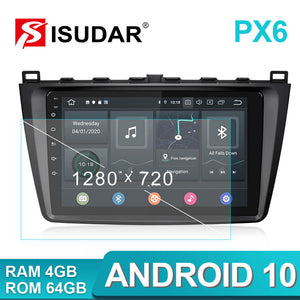 Isudar  9 inch Android Auto Radio GPS For Mazda 6 2 3 GH 2007-2012 - ISUDAR Official Store
