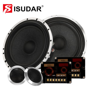 ISUDAR SU602 6.5 Inch Car Component Speaker System 2 Way Auto Audio HiFi Stereo - SEO Optimizer Test