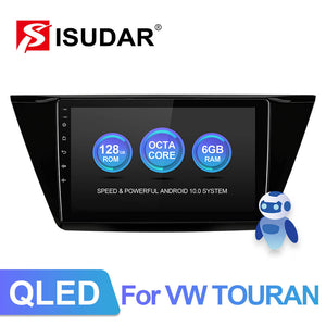 Isudar 4G Auto Radio For VW/Volkswagen/TOURAN 2016 2017 2018- - ISUDAR Official Store