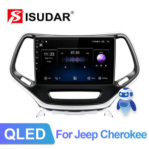 ISUDAR QLED 1280*720P V72 Car Radio For Jeep Cherokee 5 KL 2014-2018 - ISUDAR Official Store