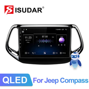 ISUDAR Android 10  Carplay V72 Car Radio For Jeep Compass 2 MP 2016 2017 2018 2019 - ISUDAR Official Store