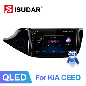 Isudar 8 Core built in carplay 4G Auto Radio For Kia CEED Cee'd 2 JD 2012-2016 - ISUDAR Official Store