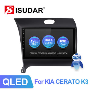 Isudar Canbus QLED Screen 4G Auto Radio For Kia/K3/Cerato FORTE 2013-2017 - ISUDAR Official Store