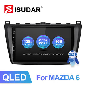 ISUDAR V72 QLED Android 10 Car Radio For Mazda 6 2 3 GH 2007-2012 - ISUDAR Official Store