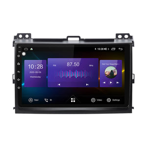 Isudar Auto radio 8 core GPS For TOYOTA/Prado J120 2004-2009 - ISUDAR Official Store
