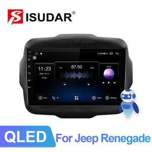 ISUDAR QLED Voice control Android 10  V72 Car Radio For Jeep Renegade 2012-2018 - ISUDAR Official Store