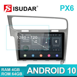 Isudar PX6 1 Din Auto Radio Android 10 For Volkswagen/Golf 7 - SEO Optimizer Test