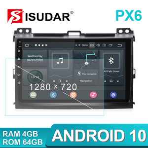 ISUDAR 1 Din Android 10 Car Radio For Toyota/Prado 120 2004-2009 - ISUDAR Official Store