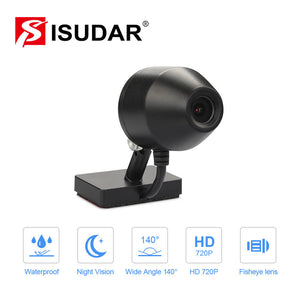 ISUDAR Car Front 720p Camera recorder DVR for Android car radio - ISUDAR Official Store