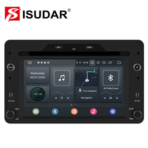 ISUDAR 1 Din Octa core Auto radio Android 10 For Alfa/Romeo/159 - ISUDAR Official Store