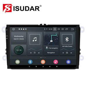 ISUDAR 1 Din Auto radio Android 10 Octa core For VW/Golf/Tiguan - ISUDAR Official Store