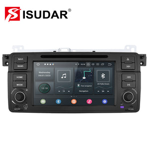 ISUDAR 1 Din 7inch Auto radio Android 10 Octa core For BMW/E46/M3 - ISUDAR Official Store