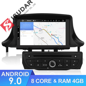 ISUDAR 2 Din Auto radio Android 9 Octa core For Renault/Megane 3 - SEO Optimizer Test