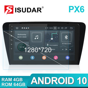 Isudar 1 Din 10.1 inch Android 10 Radio For VW/Skoda/Octavia 2014- - ISUDAR Official Store