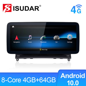 Isudar Android 10.0 Autoradio Snapdragon for Mercedes Benz C Class W204 S204 2007-2010 - ISUDAR Official Store