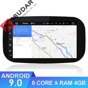 ISUDAR 2 Din Auto radio Android 9 Octa core For Mercedes/Benz/SMART 2016 - SEO Optimizer Test