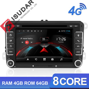 ISUDAR H53 2 Din Android Car Radio For VW/Octavia/Seat/Leon - ISUDAR Official Store