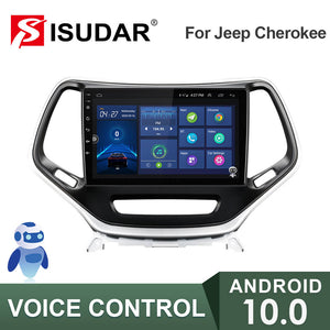 ISUDAR V57S Voice control 2 Din Android 10 Car Radio For Jeep Cherokee 5 KL 2014-2018 - ISUDAR Official Store