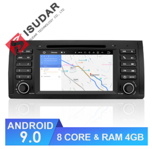 ISUDAR Auto radio Android 9 Octa core For BMW/E39/X5/M5/E53 - ISUDAR Official Store