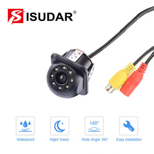 Isudar Rear Camera 8 LED With HD Night Vision 170 Degree with 6M cable - ISUDAR Official Store