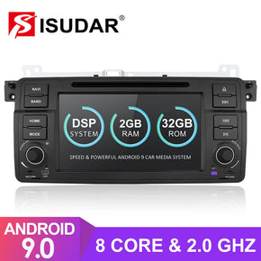 T8 octa core Android 9 car radio for BMW