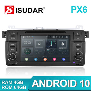 Isudar PX6 1 Din Android 10 Auto Radio For BMW/E46/M3 - ISUDAR Official Store