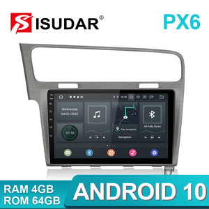 Isudar PX6 1 Din Auto Radio Android 10 For VW/Volkswagen/Golf 7 A - SEO Optimizer Test