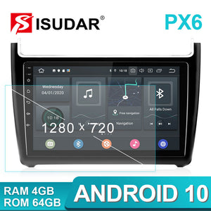 Isudar Voice control 1 Din Android 10 Car Radio For VW/Volkswagen/POLO Sedan 2009-2017 - SEO Optimizer Test