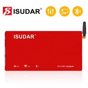 ISUDAR DA06 Plug and play Car Amplifier DSP 1200W 4 channels input - ISUDAR Official Store