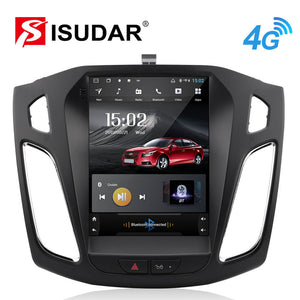 ISUDAR Tesla style 1 Din Android Car Radio For Ford/Focus 2012- - ISUDAR Official Store