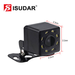 ISUDAR Car Rear Camera Universal Backup Parking Camera 8 LED - ISUDAR Official Store